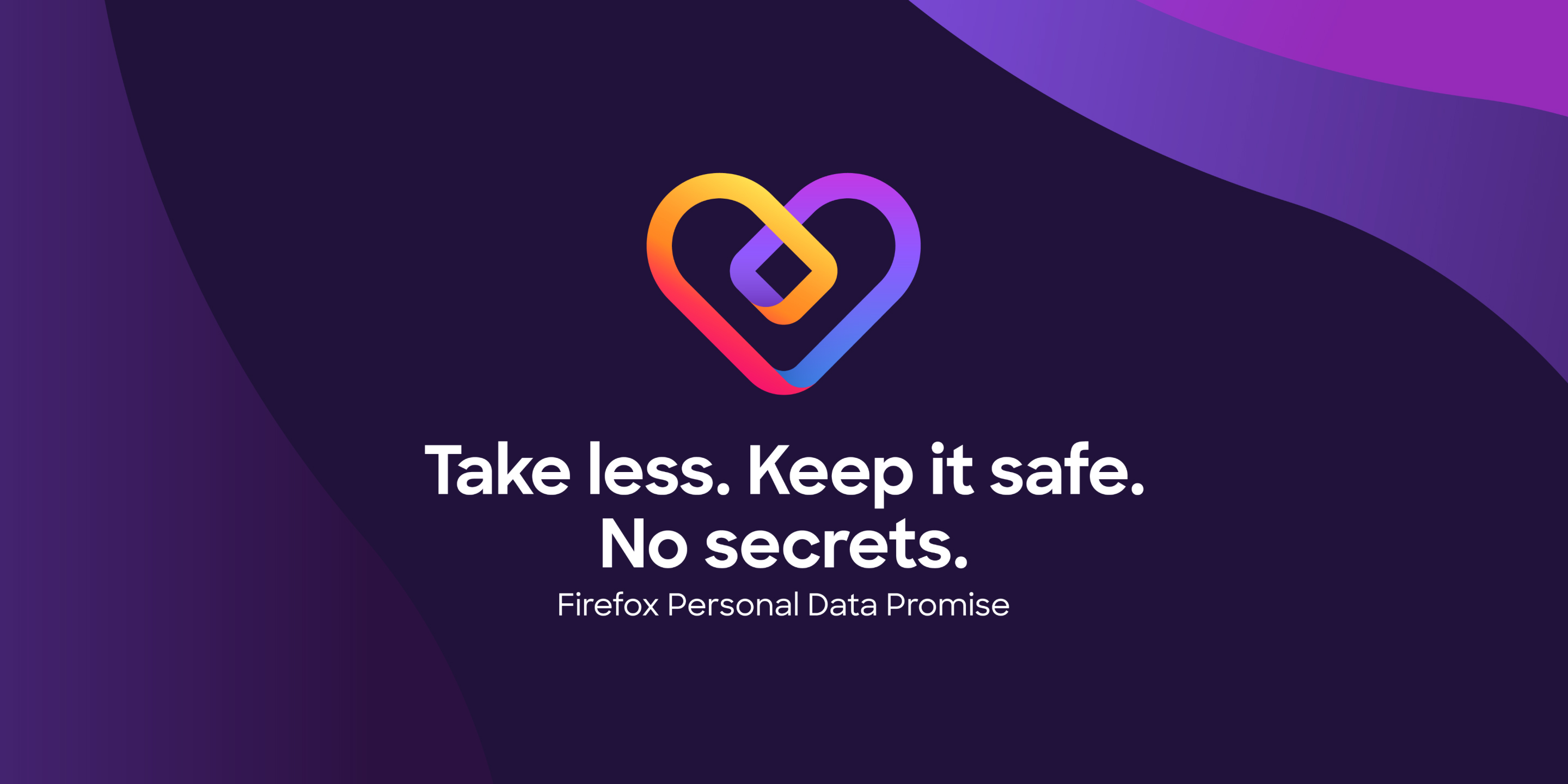 Firefox personal data promise