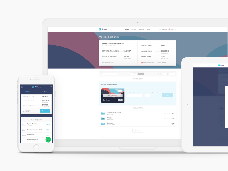 Work — UI/UX Design, Brand Identity & Web projects
